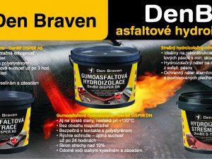 Stavebné materiály Den Braven – asfaltové hydroizolácie